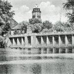 Postcard view of the Stadtpark Schöneberg from c.1920