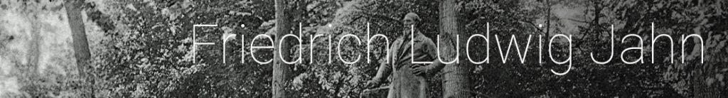 Friedrich Ludwig Jahn in the Hasenheide