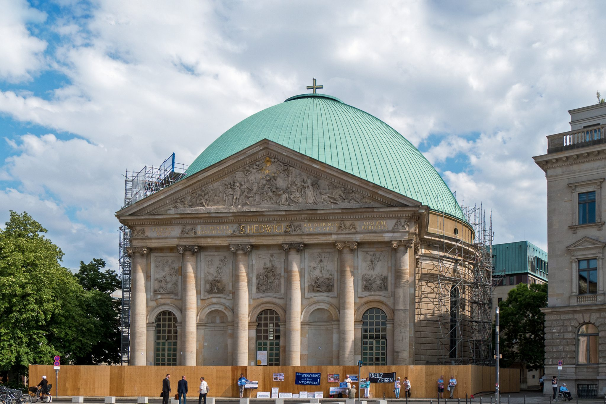 St. Hedwig's Cathedral from 2020