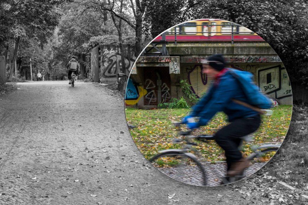 Path to the Tiergarten